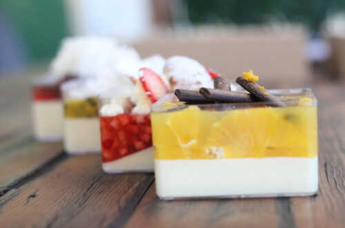 Grazing Boxes Sydney - Pana My Cotta - box of 2 or 4 individual panacottas with the flavours of your choice