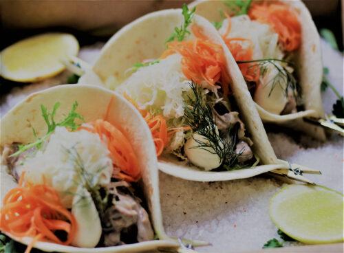 Grazing Boxes Sydney -Spanner Crab Taco box