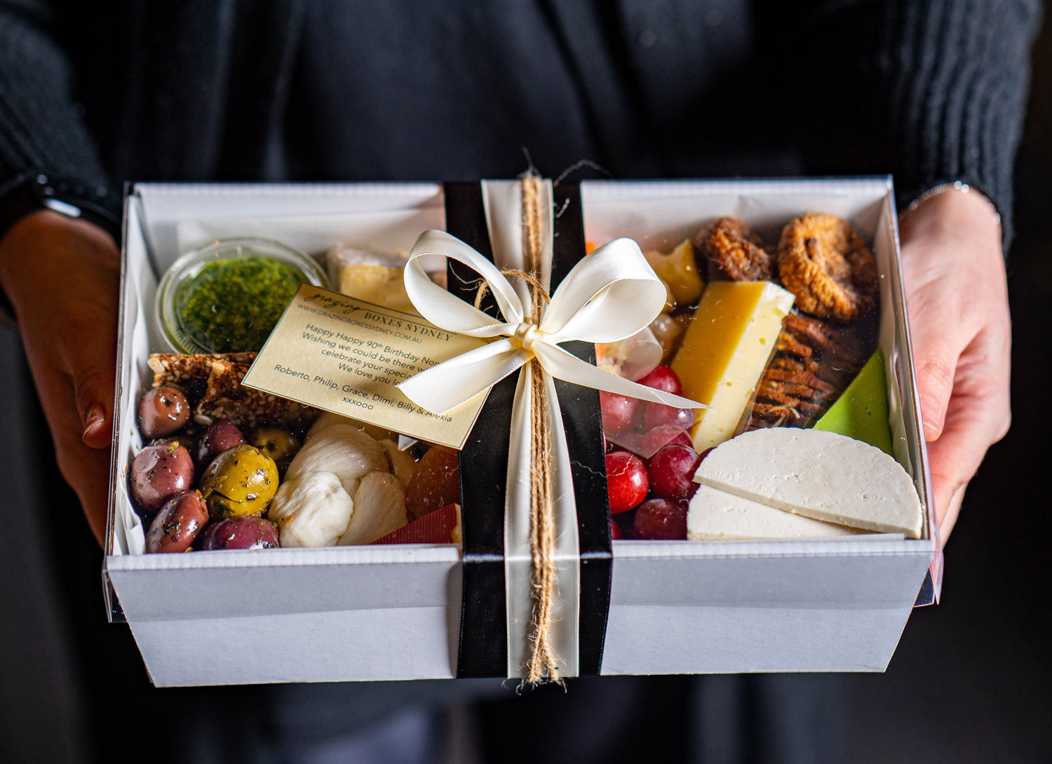 A touch of cheese - Grazing Boxes Sydney